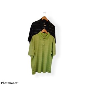 2 Men's C9 by Champion Duo Dry Polos Size XL